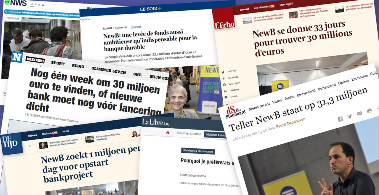 De campagne van NewB: het standpunt van de Pers picture