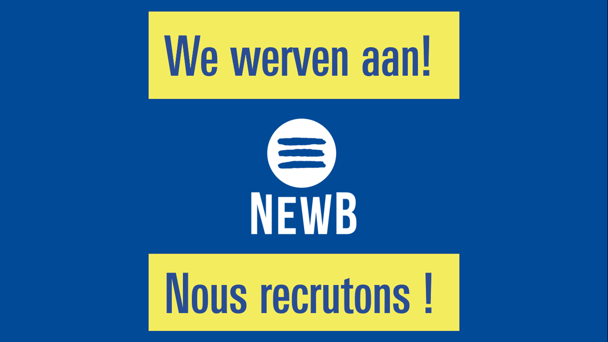 NewB recrute ! picture